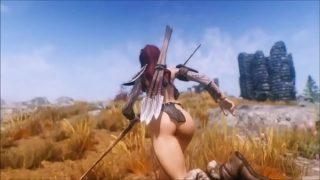 Beastly Skyrim – Huntress Fucks Her Pet Troll